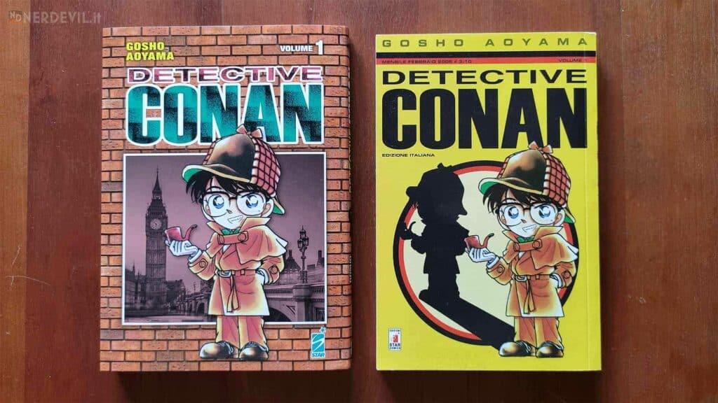 Detective Conan nuova e vecchia edizione manga